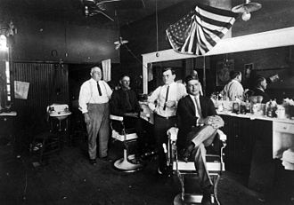 Richardson, Texas - Image: Texas Richardson barber Shop