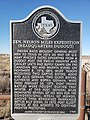 Texas Historical Marker Miles dugout.jpg