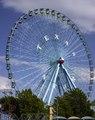 Texas Star, the 212-foot Ferris wheel that supplies a bird's-eye view of the State Fair of Texas each fall at Dallas's Fair Park, site of the 1936 Texas Centennial Exposition LCCN2015630382.tif