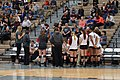 Texas Woman's vs. Texas A&M–Commerce volleyball 2015 04.jpg