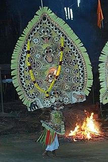 Padayani Ritual art performed in south Kerala