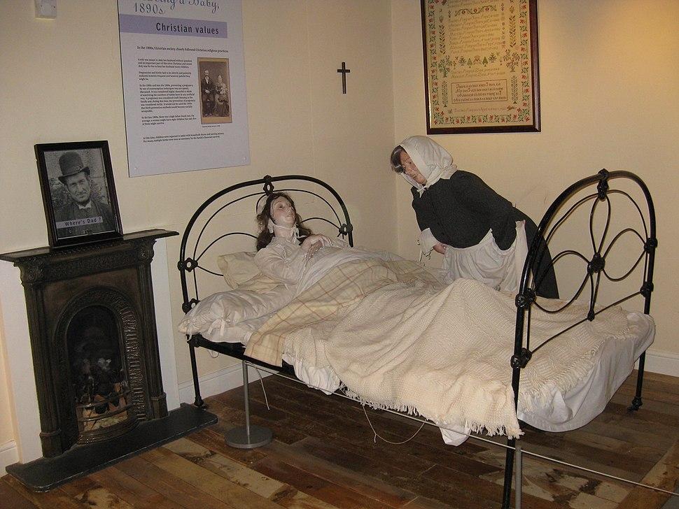 Thackray Midwife Scene