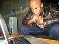 "Thato ""Scar"" Matlhabaphiri - TeachAIDS Recording Session (13550091335).jpg"