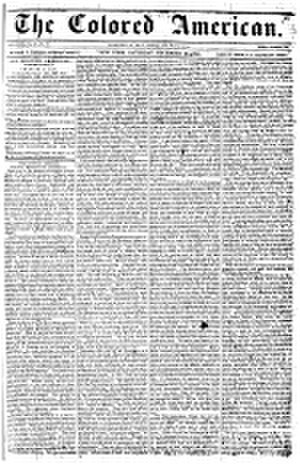 The Colored American (New York City) - Issue of March 4, 1837
