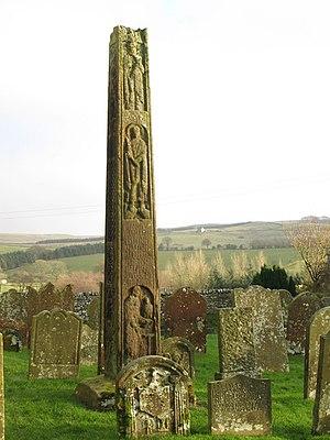 Bewcastle Cross - Bewcastle cross - west face