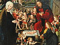 The Adoration of the Christ Child, detail, c. 1515, by Jacob Cornelisz van Oostsanen and workshop - Art Institute of Chicago - DSC09642.JPG