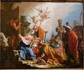 The Adoration of the Magi, by Francesco Fontebasso, 1740s, oil on canvas - Blanton Museum of Art - Austin, Texas - DSC08082.jpg
