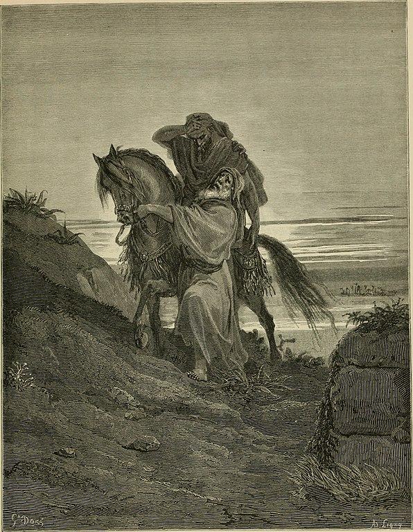 착한 사마리아 사람(귀스타브 도레, Gustave Dore, 1866년)