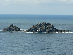 The Brisons, viewed from Cape Cornwall - geograph.org.uk - 221989.jpg