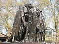 The Burghers of Calais, London.JPG