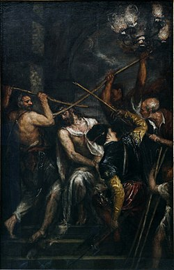 The Crowning with Thorns by Titian - Alte Pinakothek - Munich - Germany 2017.jpg