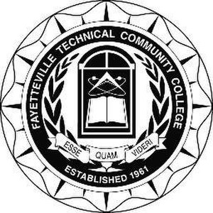 Fayetteville Technical Community College - Image: The Fayetteville Tech Seal 2013 10 14 21 15