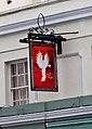 The Fiery Angel (formerly the New Inn) (2) - sign, 83 Hewlett Road, Cheltenham - geograph.org.uk - 2311558.jpg