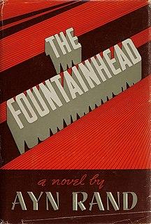 <i>The Fountainhead</i> Novel by Ayn Rand, 1943