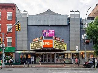 IFC Center movie theater in Greenwich Village, Manhattan, New York City, United States