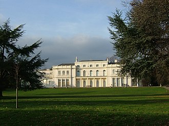 Gunnersbury Park - The Large Mansion at Gunnersbury Park.