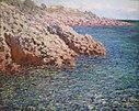 The Mediterranean (Cap d'Antibes) by Claude Monet, Columbus Museum of Art .JPG