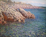 The Mediterranean (Cap d'Antibes) by Claude Monet, Columbus Museum of Art .JPG