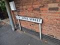 The Parish Church of St. James the Great - St James Street, Wednesbury - road sign (24687367758).jpg