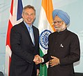 The Prime Minister, Dr. Manmohan Singh meeting with the Prime Minister of United Kingdom, Mr. Tony Blair, at Heiligendamm, Germany on June 08, 2007.jpg