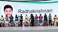 The Prime Minister, Shri Narendra Modi awarding the Digi-Dhan lucky draw winners, at Indoor Sports Complex, Mankapur, in Nagpur (6).jpg