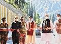 The Prime Minister, Shri Narendra Modi dedicates to the nation the World's longest Highway tunnel - Atal Tunnel, in Manali, Himachal Pradesh on October 03, 2020 (1).jpg