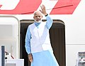 The Prime Minister, Shri Narendra Modi emplanes for Rwanda, Uganda and South Africa from New Delhi on July 23, 2018 (1).JPG