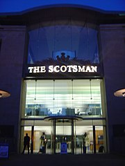 The Scotsman's offices in Edinburgh
