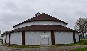 Stock Judging Pavilion (Oskaloosa, Iowa) - Image: The Stock Judgin Pavilion