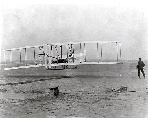 The Wright Brothers First Heavier-than-air Flight - GPN-2002-000128