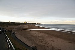 The beach at Tynemouth - geograph.org.uk - 1631864