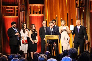 The Knick - The cast and crew of The Knick at the 74th Annual Peabody Awards.