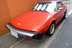 The frontview of FIAT X1-9.JPG