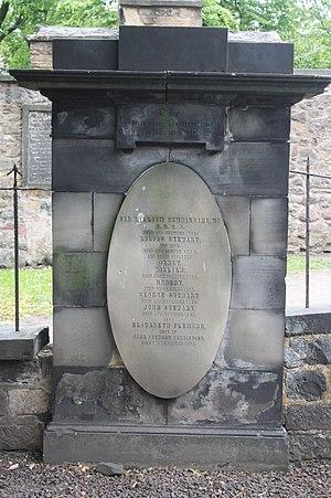 William Newbigging - The grave of William Newbigging, Greyfriars Kirkyard, Edinburgh