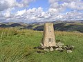The trig point on Mid Hill - geograph.org.uk - 563254.jpg