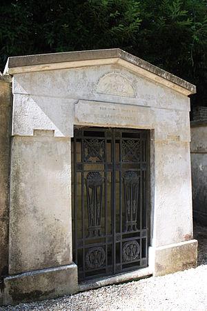 Benjamin Hawes - The vault of Benjamin Hawes, Highgate Cemetery, London