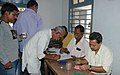 The voters registering their names at a polling booth at Bhubaneswar, Orissa during the 2nd Phase of General Election-2009 on April 23, 2009.jpg