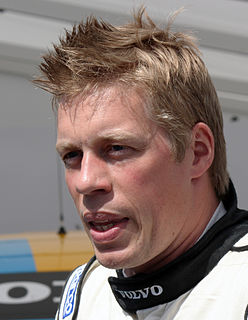Thed Björk Swedish racing driver