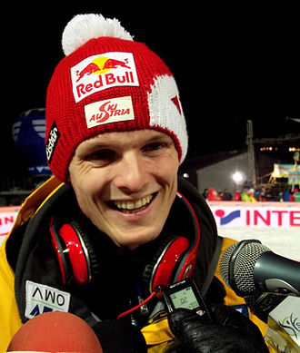 2010–11 FIS Ski Jumping World Cup - Image: Thomas Morgenstern Interview