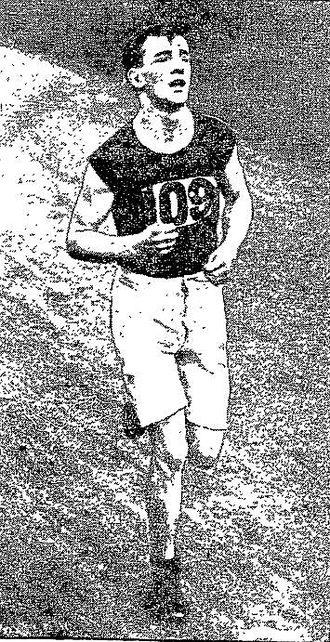 Thomas Morrissey (athlete) - Thomas Morrissey at 1908 Boston Marathon