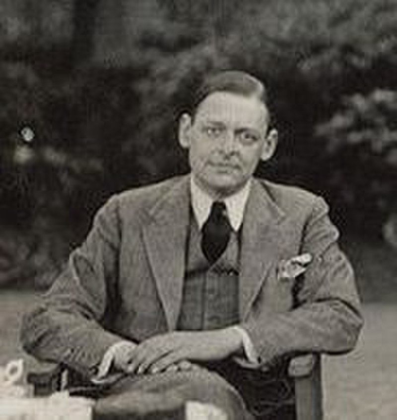 the life and times of thomas stearns eliot Painted shadow : the life of vivienne eliot, first wife of ts eliot, and the long-suppressed truth about her influence on his genius.