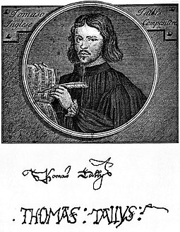 Thomas Tallis English composer