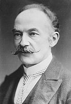 photograph of the author, Thomas Hardy, taken circa 1910
