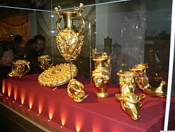 The Panagyuriste Thracian gold treasure