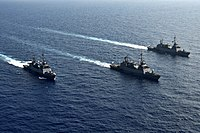 Three Sa'ar 5 Class Missile Corvettes Going For a Cruise.jpg
