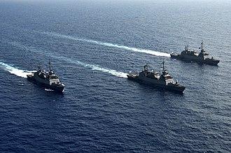 Israeli Navy - Sa'ar 5-class missile сorvettes of the Israeli Navy