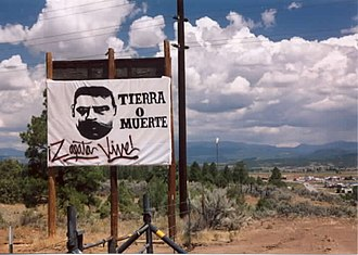 History of New Mexico - Tierra O Muerte – Land or Death. Some New Mexicans express dissatisfaction over land grant issues which date back to the Mexican War.