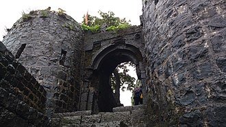 Tikona - Image: Tikona fort 9