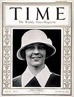 The cover shows the 1923 U.S. Women's Amateur Champion, Edith Cummings.