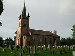 Tingelstad new church, Gran.jpg